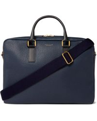 Globe-Trotter - Propellor Pebble-grain Leather Briefcase - Lyst