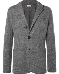 Brunello Cucinelli - Donegal Virgin Wool-blend Cardigan - Lyst