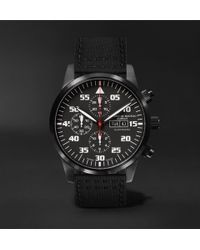 Bremont - Zurich Chronograph 42mm Dlc-coated Stainless Steel And Kevlar Watch - Lyst