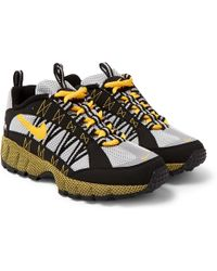 Nike - Air Zoom Humara Rubber And Suede-trimmed Mesh Trainers - Lyst