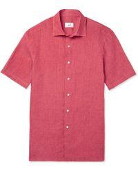 Dunhill - Linen Shirt - Lyst