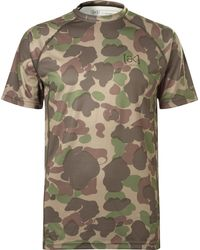 Burton | Power Grid Camouflage-print Jersey T-shirt | Lyst