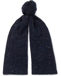 Inis Meáin - Donegal Merino Wool And Cashmere-blend Scarf - Lyst