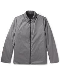 Theory - Odin Reversible Puppytooth Shell Shirt Jacket - Lyst