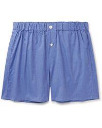 Emma Willis - End-on-end Cotton Boxer Shorts - Lyst