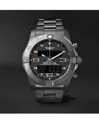 Breitling - Exospace B55 Superquartz 46mm Titanium Watch - Lyst