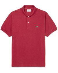 Lacoste - Cotton-piqué Polo Shirt - Lyst