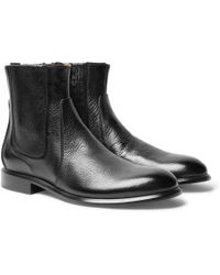 Givenchy - Cruz Full-grain Leather Chelsea Boots - Lyst