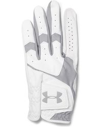 Under Armour | Coolswitch Mesh-panelled Leather Golf Glove | Lyst