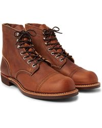 Red Wing - 8085 Iron Ranger Leather Boots - Lyst