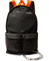 Off-White c/o Virgil Abloh - Printed Canvas Backpack - Lyst