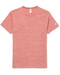 Todd Snyder - Mélange Slub Cotton-blend Jersey T-shirt - Lyst