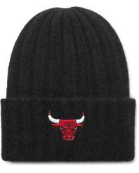 The Elder Statesman - + Nba Chicago Bulls Appliquéd Ribbed Cashmere Beanie - Lyst