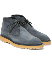 Berluti - Brushed-suede Desert Boots - Lyst