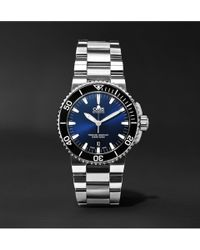 Oris - Aquis Date Automatic 43mm Stainless Steel Watch - Lyst
