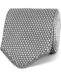 Berluti - 6.5cm Reversible Two-tone Knitted Silk Tie - Lyst