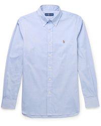Polo Ralph Lauren - Button-down Collar Cotton Oxford Shirt - Lyst