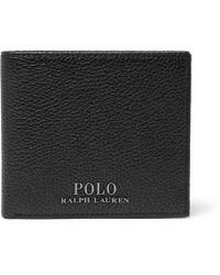 Polo Ralph Lauren - Pebble-grain Leather Billfold Wallet - Lyst