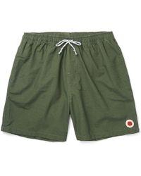 Mollusk - Vacation Mid-length Cotton-blend Swim Shorts - Lyst