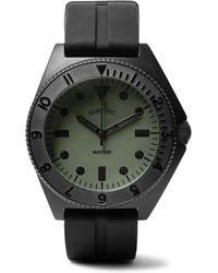 Bamford Watch Department - Mayfair Stainless Steel And Rubber Watch - Lyst