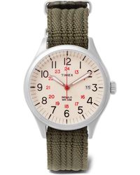 Timex | Waterbury United Stainless Steel And Nylon-webbing Watch | Lyst