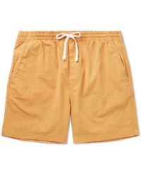 J.Crew - Stretch-cotton Drawstring Shorts - Lyst