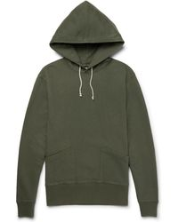 J.Crew | Wallace Loopback Cotton-jersey Hoodie | Lyst