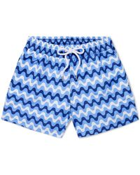 Frescobol Carioca - Copacabana Short-length Printed Swim Shorts - Lyst