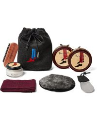 Berluti - Shoe Care Kit With Seven-pack Knitted Socks - Lyst