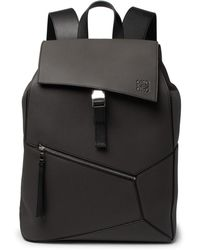 Loewe - Puzzle Full-grain Leather Backpack - Lyst