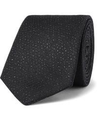 Lanvin - 7cm Slub Silk-blend Tie - Lyst