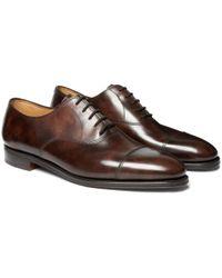 John Lobb - City Ii Leather Oxford Shoes - Lyst