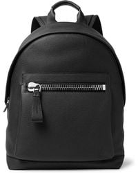 Tom Ford - Buckley Pebble-grain Leather Backpack - Lyst