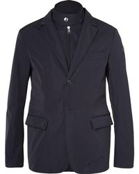 Moncler - Ecaillon Slim-fit Layered Shell Blazer - Lyst