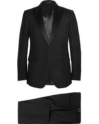 Berluti - Black Slim-fit Wool And Mohair-blend Tuxedo - Lyst