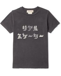 Remi Relief - Slim-fit Printed Cotton-jersey T-shirt - Lyst