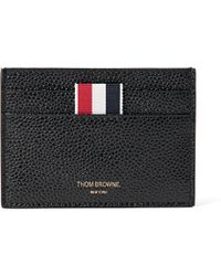 Thom Browne - Pebble-grain Leather Cardholder - Lyst