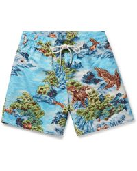 Polo Ralph Lauren - Mid-length Printed Swim Shorts - Lyst