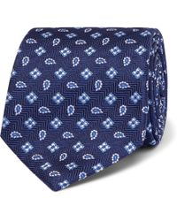 Turnbull & Asser - 8cm Paisley Silk-jacquard Tie - Lyst