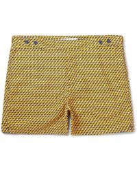 Frescobol Carioca - Leme Short-length Printed Swim Shorts - Lyst