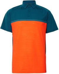 Under Armour - Two-tone Calibrate Microthread Golf Polo Shirt - Lyst