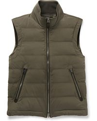 Tom Ford - Quilted Shell Down Gilet - Lyst
