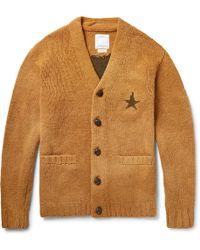 Visvim - Selmer Intarsia Wool Cardigan - Lyst