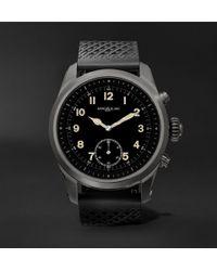 Montblanc - Summit 42mm Titanium And Rubber Smart Watch - Lyst