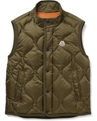 Moncler - Canut Quilted Shell Down Gilet - Lyst