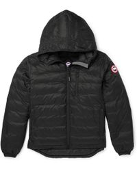 Canada Goose - Lodge Packable Quilted Ripstop Shell Hooded Down Jacket - Lyst