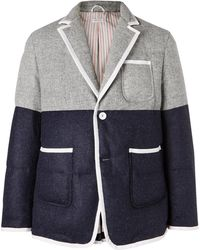 Thom Browne - Quilted Goose-down Jacket - Lyst