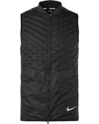 Nike - Aeroloft Slim-fit Quilted Ripstop Down Gilet - Lyst