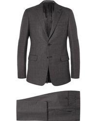 Prada - Grey Slim-fit Wool Suit - Lyst
