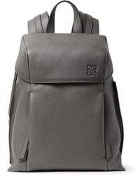Loewe - Pebble-grain Leather Backpack - Lyst